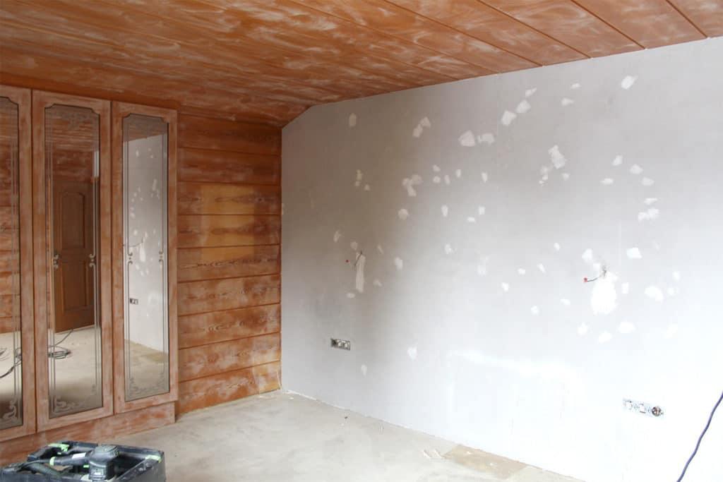 Schlafzimmer Renovierung vorher