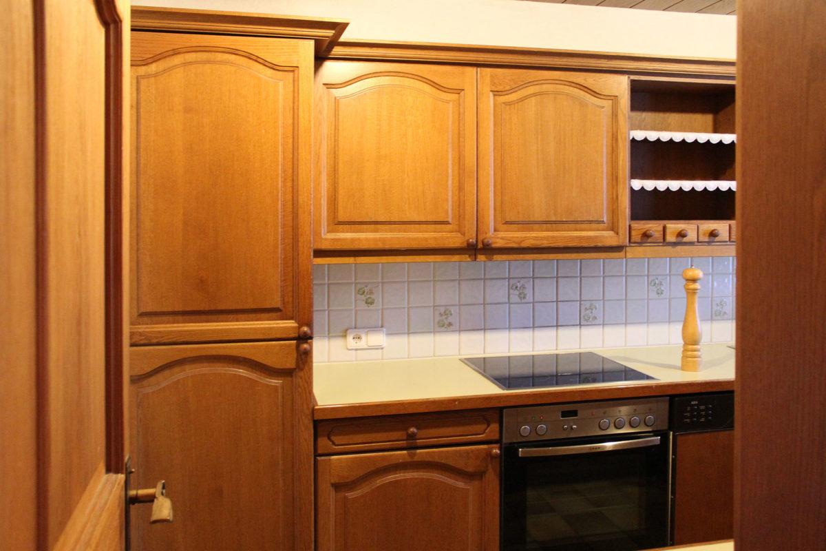 Küche makeover Kühlschrank vorher