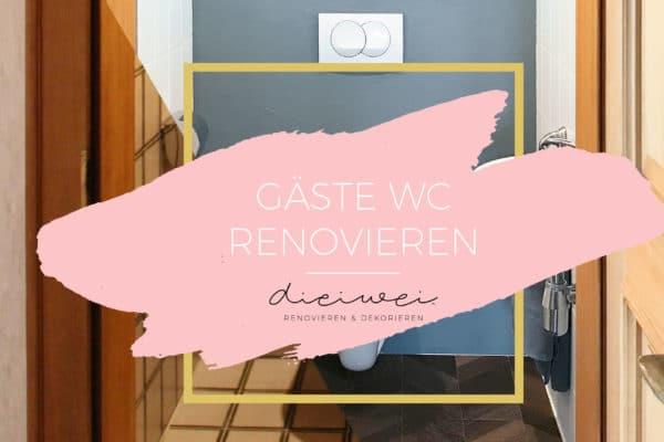 Gäste WC renovieren