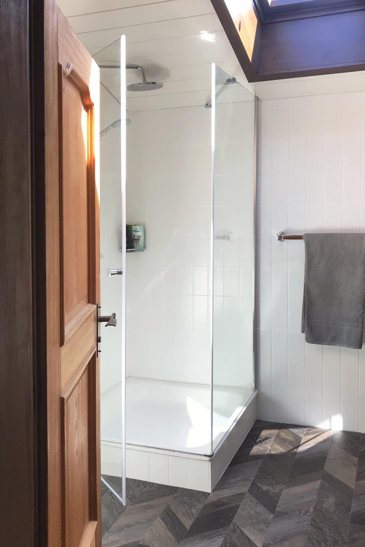 Bad Duschkabine nachher